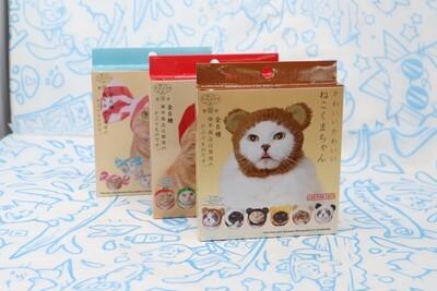 Mystery Blind Box Cat Cap: Bear Edition (Kitan Club)