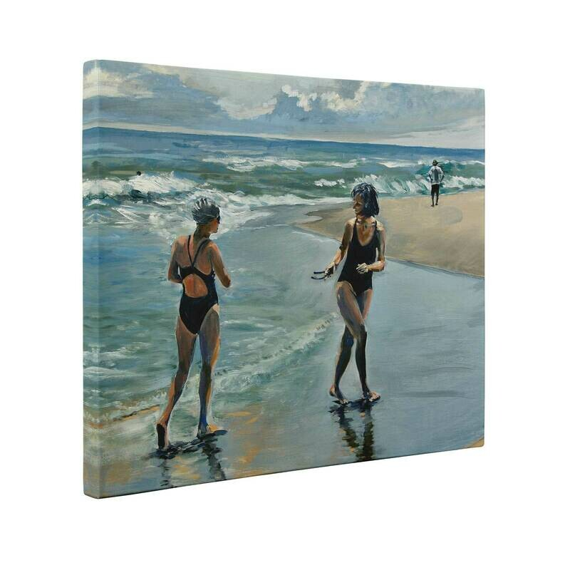 Wasque Swimmers | Print on Canvas