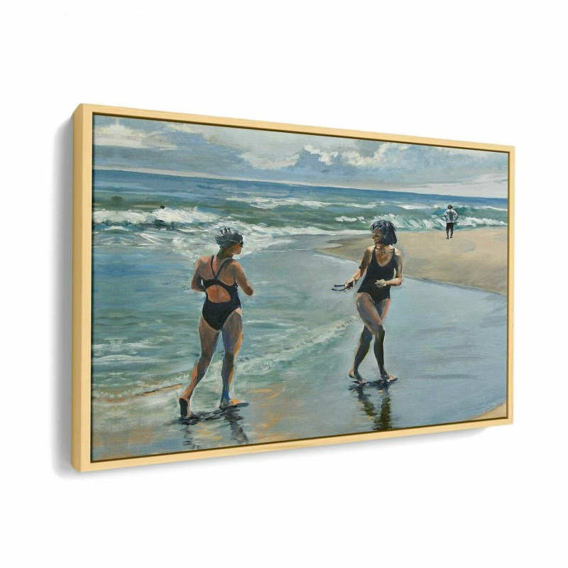 Wasque Point Swimmers | Original Oil Painting