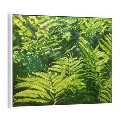 Lady Ferns | Original Oil Painting