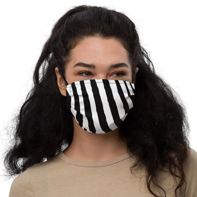 Zebra face mask