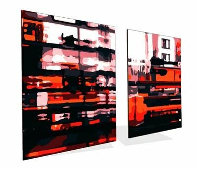 London Rain | Acrylic Prints