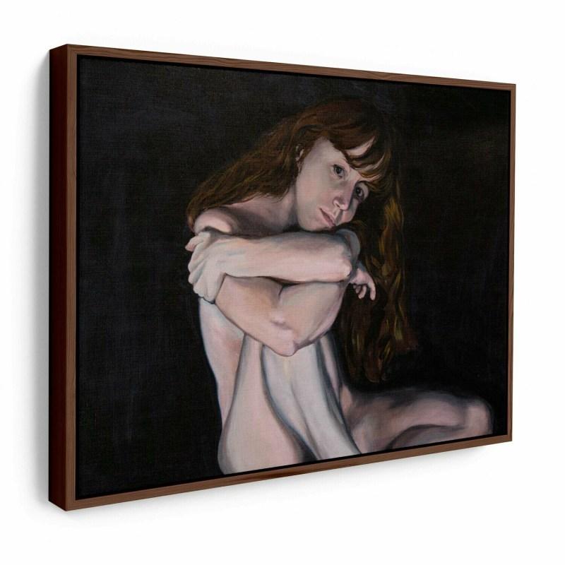 Liv Sage Figure   Original Oil Painting