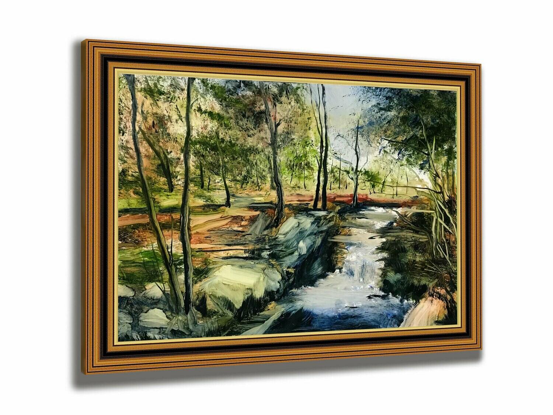 Spring Solitude   Original Oil Painting