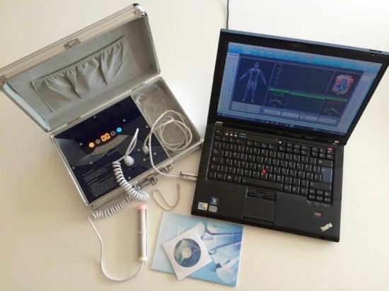 Bioresonanz-Ananlyse Testgerät dt. 230 Werte, MS-WIN