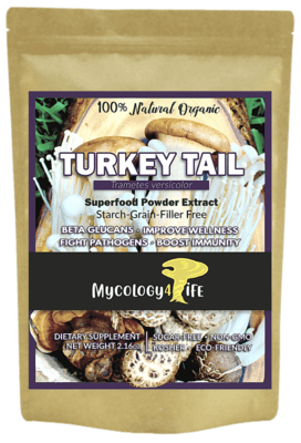 Turkey Tail Mushroom 100% Organic Extract