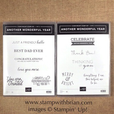 Another Wonderful Year Clear-Mount Stamp Set