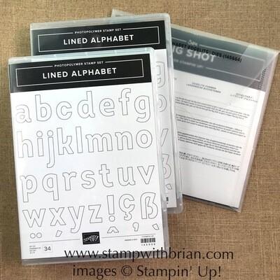 Lined Alphabet Bundle