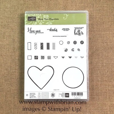 More Than Chocolate Photopolymer Stamp Set