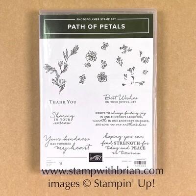 Path of Petals Photopolymer Stamp Set