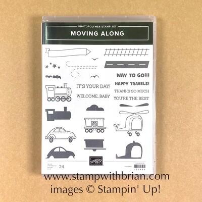 Moving Along Photopolymer Stamp Set