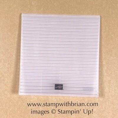 Corrugated 3D Embossing Folder