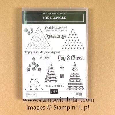 Tree Angle Photopolymer Stamp Set