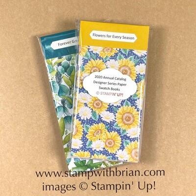 Designer Series Paper Swatch Books - 2020 Annual Catalog