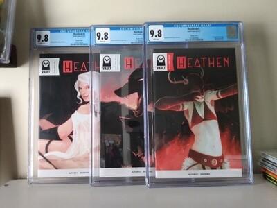 Heathen #1-3 1:5 Variants