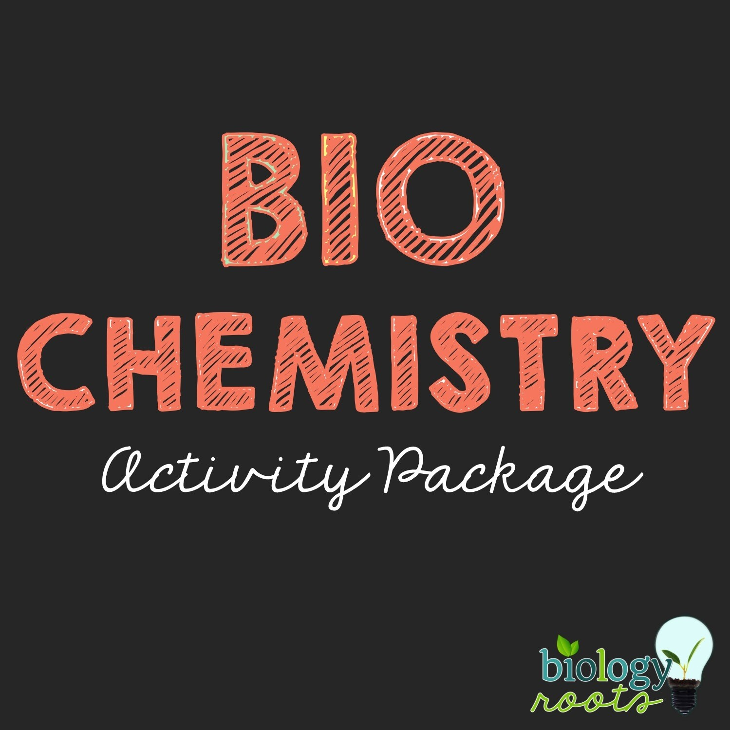 Biochemistry Activity Package- supports digital