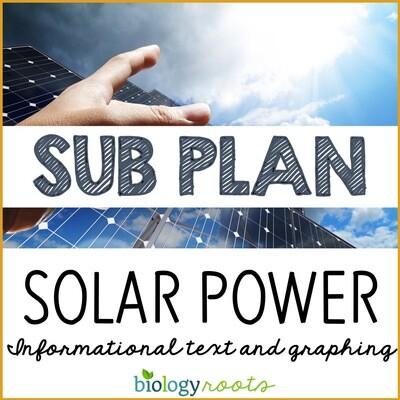 Science Literacy Sub Plan- SOLAR POWER