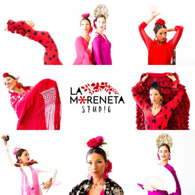 12 Meses de corrido Clases regulares Escuela La Moreneta Flamenco: 4 clases x semana (derecho a congelar 1 mes)