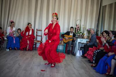 3 Meses de corrido Clases regulares Escuela La Moreneta Flamenco: 2 clases x semana