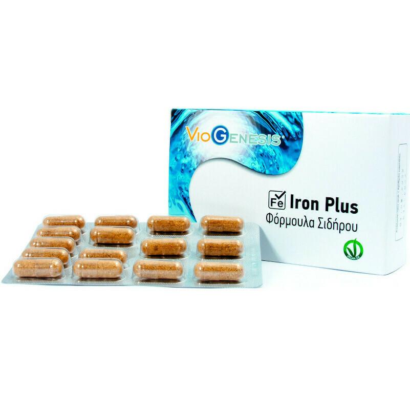Viogenesis Iron Plus 30caps