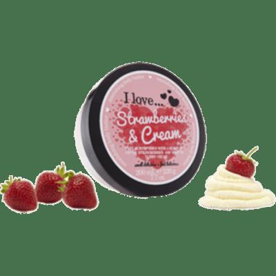 I Love Body Butter Κρέμα Σώματος Strawberry & Cream 200ML