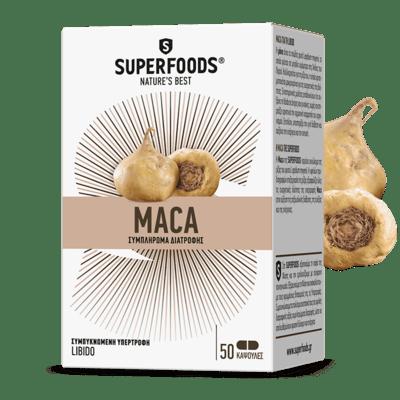 Superfoods Maca 50caps