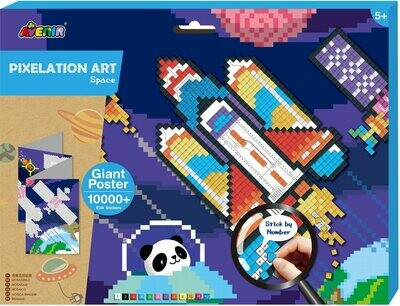 Pixelation Art - Space