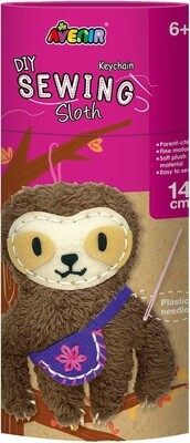 Sewing  Keychain Sloth
