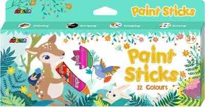 Paint Sticks - 12 Colors