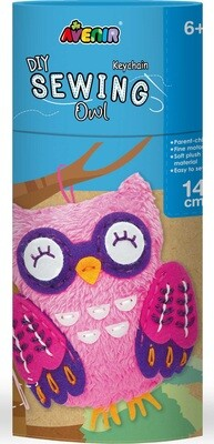Sewing  Keychain Owl