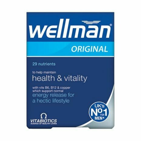 Vitabiotics Wellman Original 30Tabs