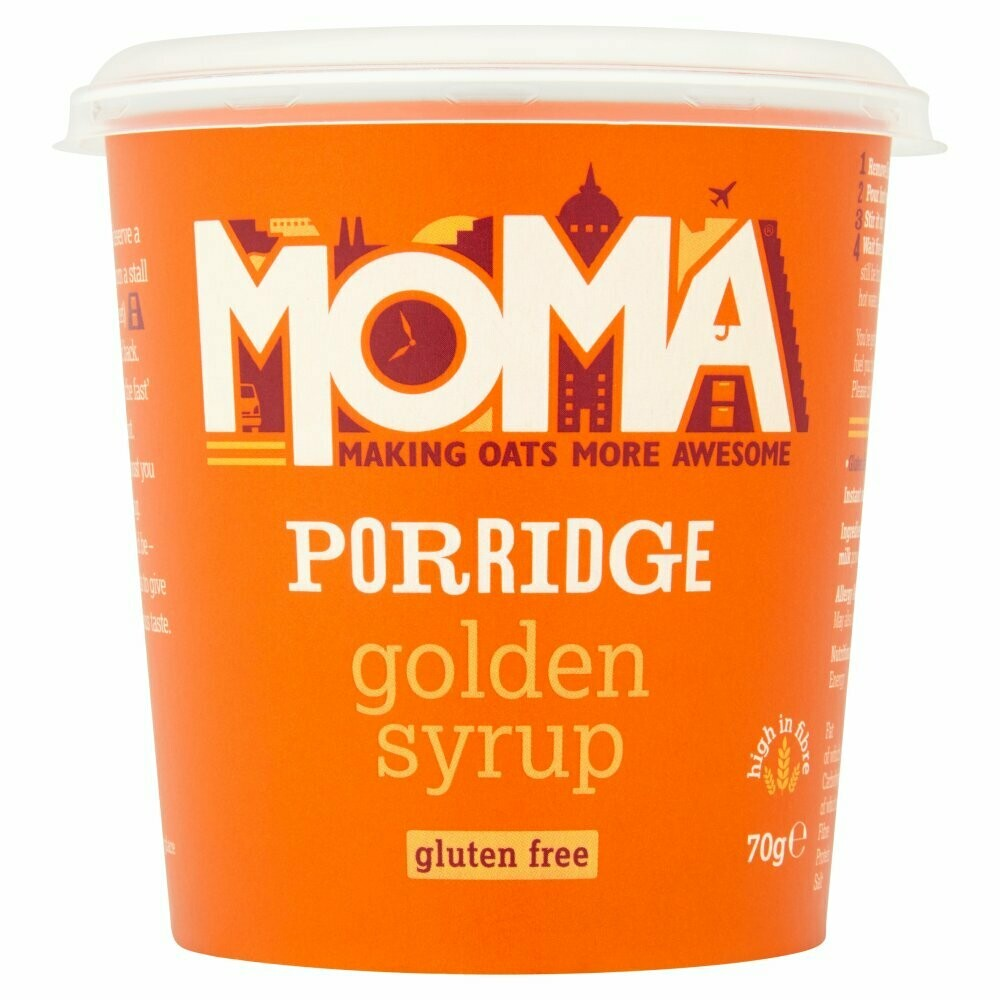 Moma Πρωινό Βρώμης Golden Syrup Χωρίς Γλουτένη