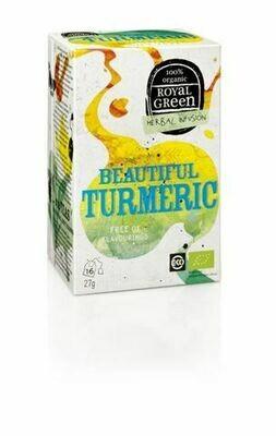Royal Green Herbal Infusion Beautiful Turmeric 27gr