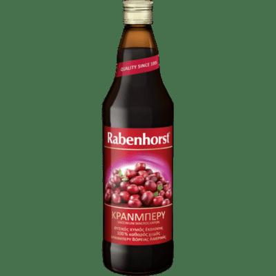 Rabenhorst Χυμός Cranberry 750ml
