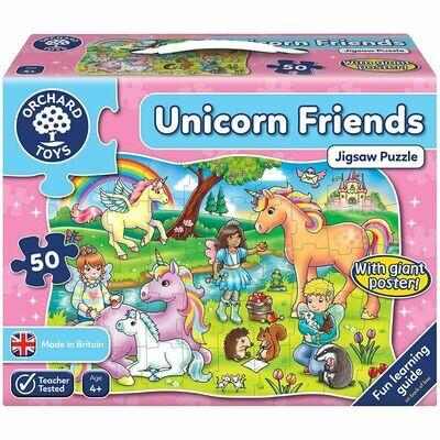 Orchard Toys Οι Φίλοι των Μονόκερων (Unicorn Friend ) Jigsaw Puzzle Ηλικίες 4+ ετών
