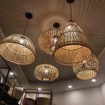Bamboo Lamp Shade Set