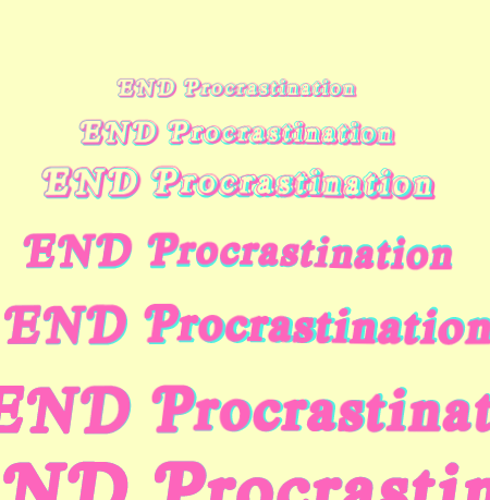 EFT To Stop Procrastinating On Your Dreams And Passions