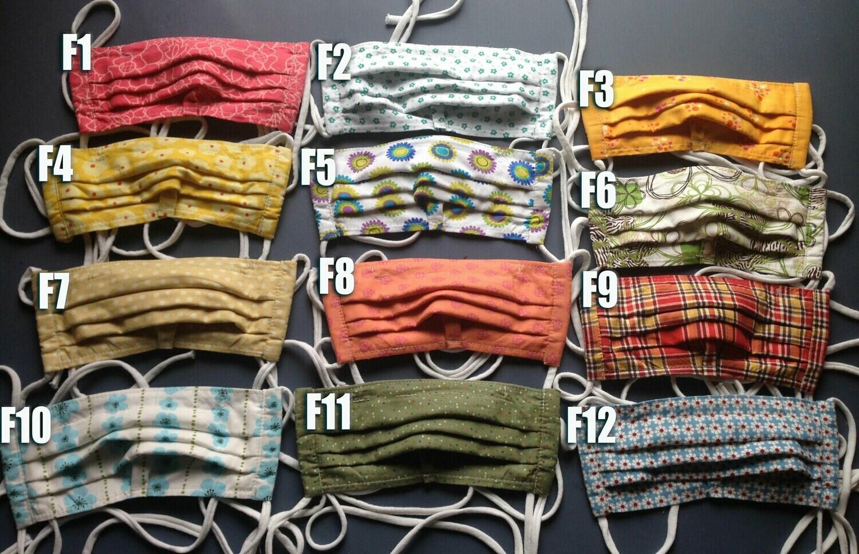 Fabric Face Masks - F