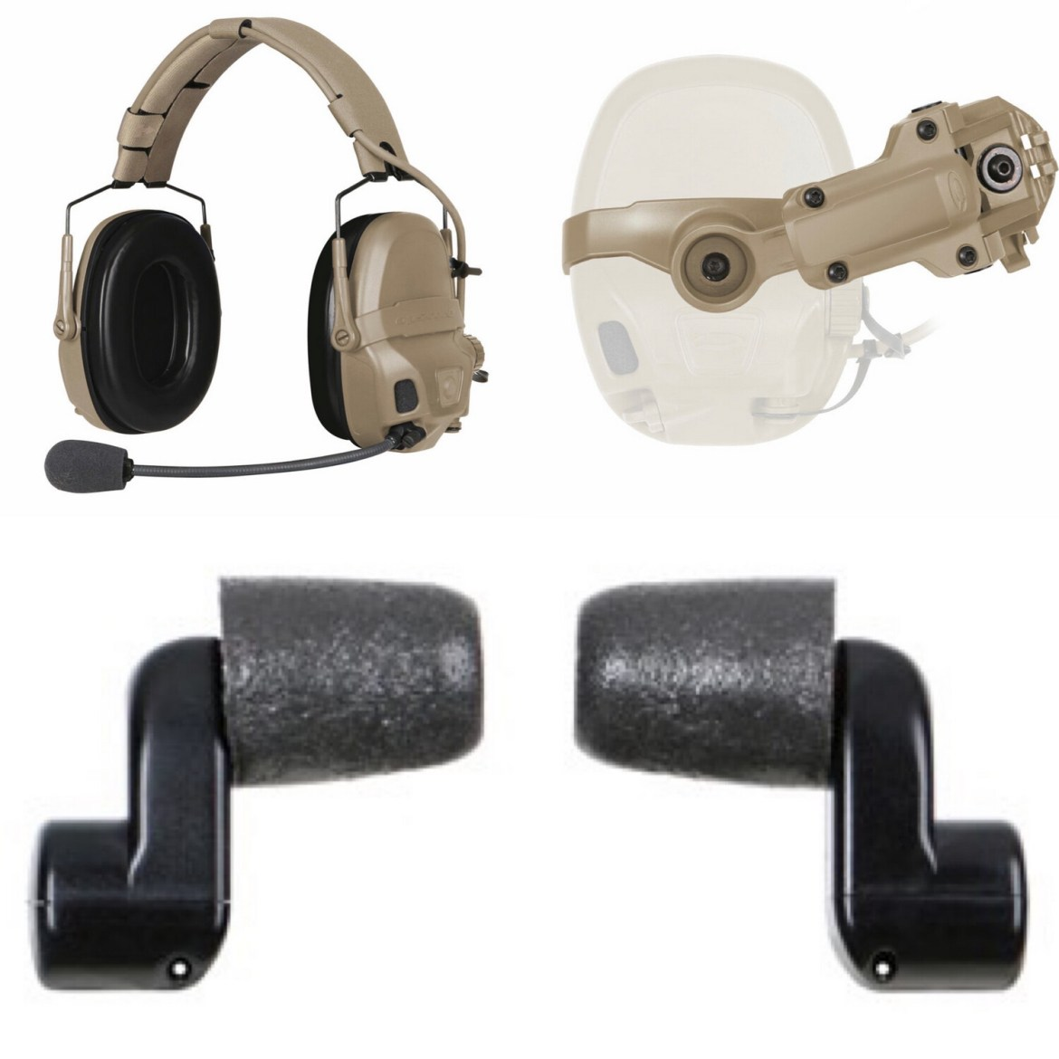 OPS-CORE AMP COMMUNICATION HEADSET - CONNECTORIZED Kit