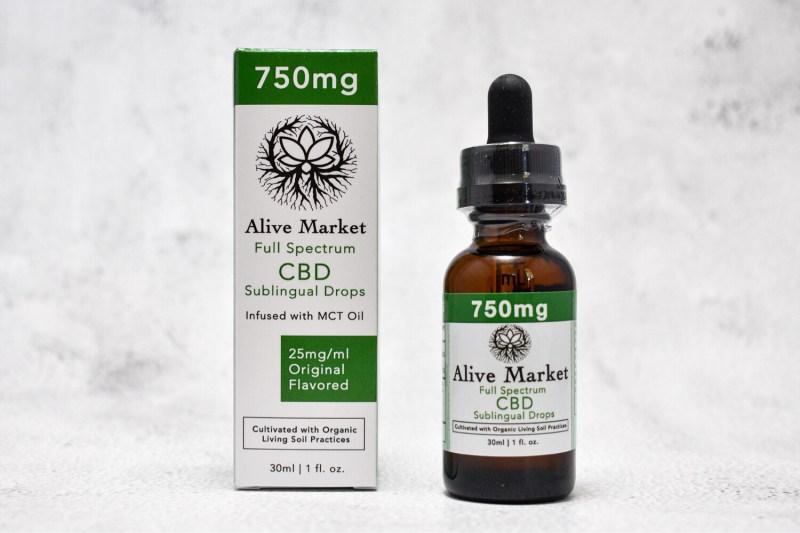 750mg (25mg/ml) Full Spectrum CBD Tincture | 30 ml