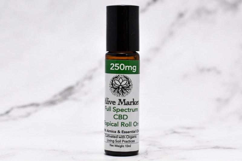 250mg Full Spectrum CBD Topical Roll On   10 ml