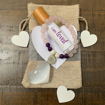 I am Loved Gift Set: Silver Lotus