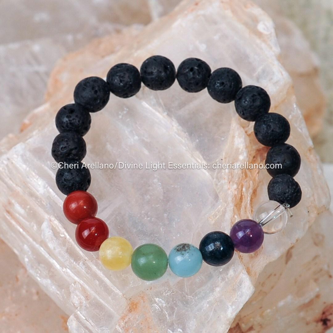 Chakra Balancing Bracelet (no pendant)