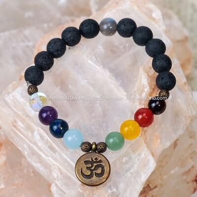 Chakra Balancing Om Bracelet