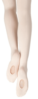 18 Capezio Adult Mesh Seamed Tights