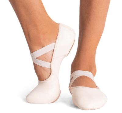 2038C Capezio Child Leather Ballet Slipper
