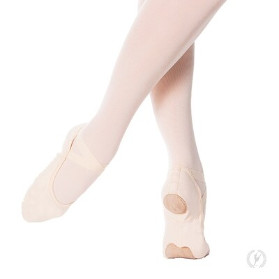 A1004A Eurotard Adult Canvas Ballet Slipper