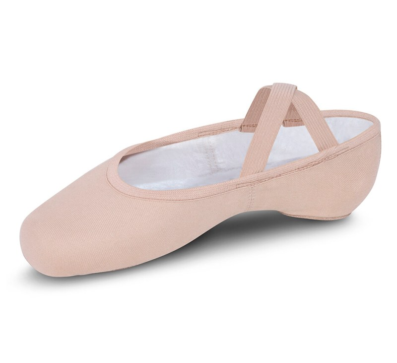 S0284L Bloch Adult Stretch Canvas Ballet Slipper