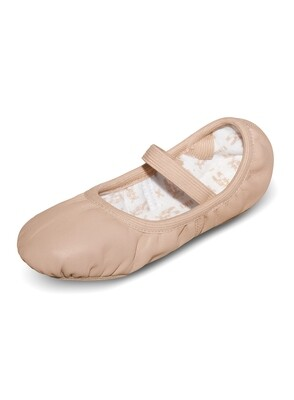 S0249L Bloch Adult Ballet Slipper No Drawstring