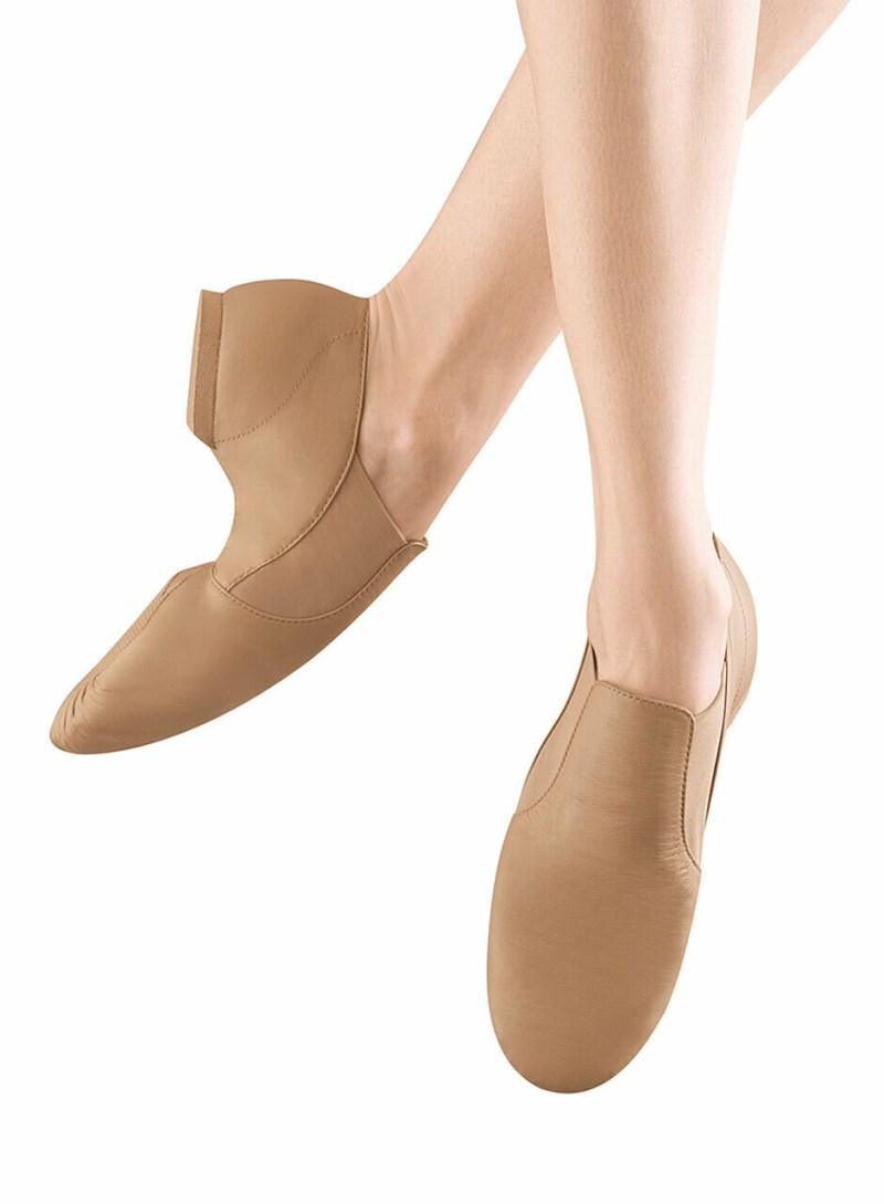 S0499G Bloch Child Elasta Bootie Jazz Shoe